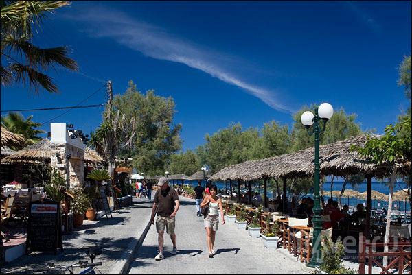 Пляж Камари / Фото из Греции