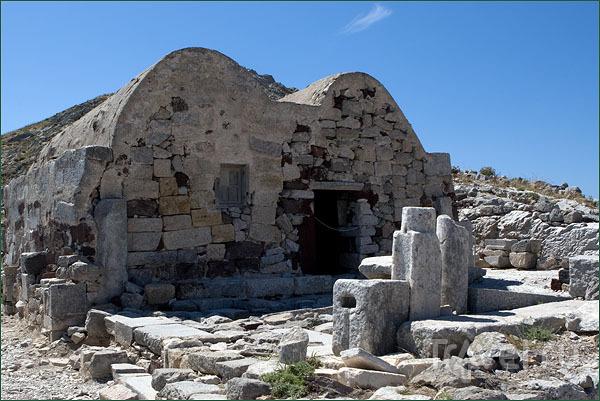 Византийская церковь Святого Стефана в древней Тере / Фото из Греции