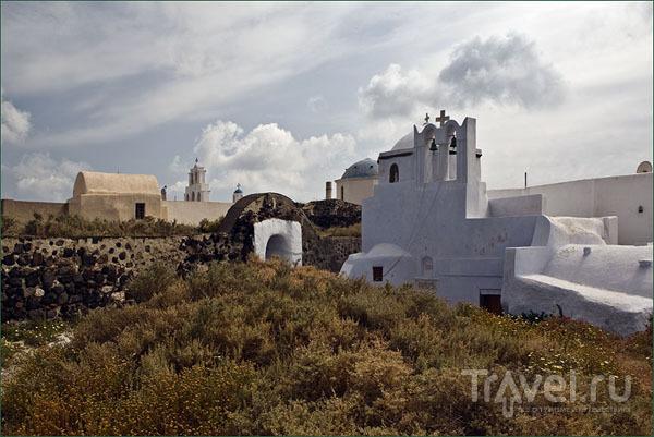 Развалины средневековой венецианской крепости в Пиргосе / Фото из Греции