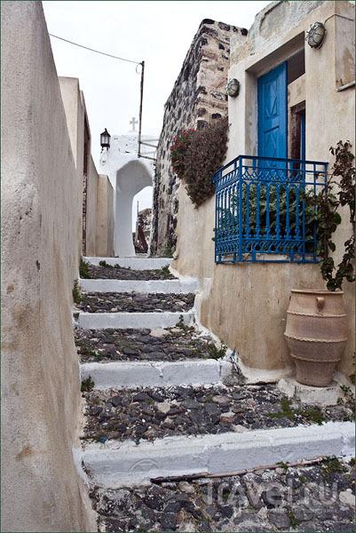 Узкие улочки Пиргоса / Фото из Греции