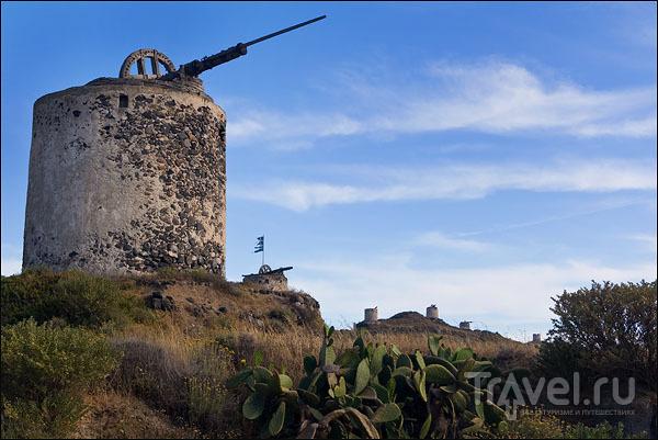 Ветряные мельницы Гаврилоса / Фото из Греции