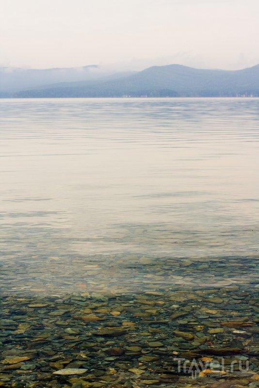 Прозрачные воды озера Тургояк