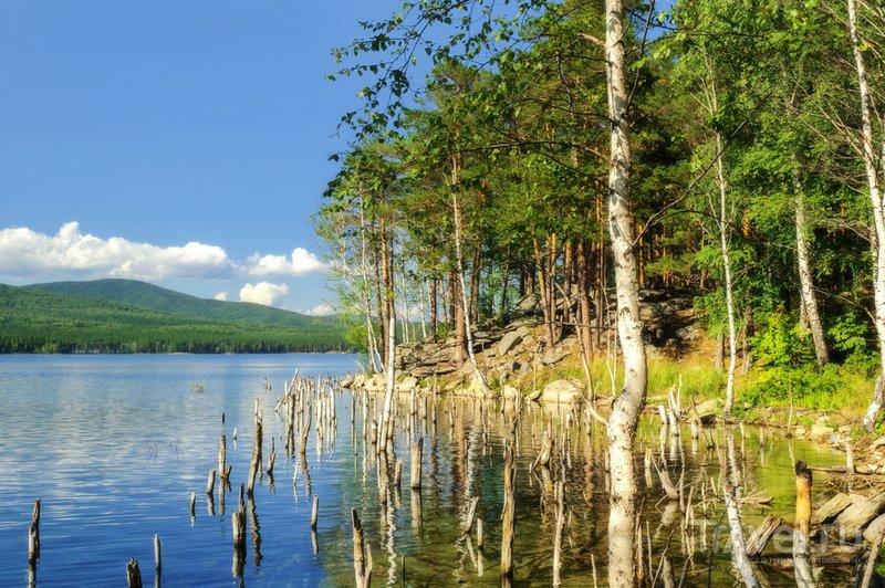 Для озера характерны значительные перепады уровня воды