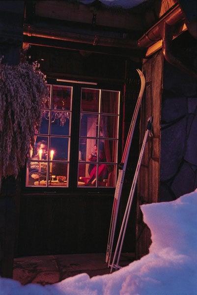 Уютный зимний вечер