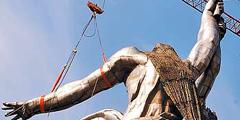Памятник демонтировали в 2003 году. // mk.ru