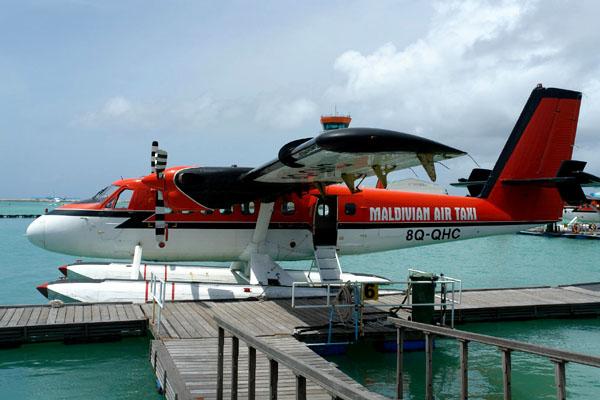Аэротакси в Мале / Фото с Мальдив