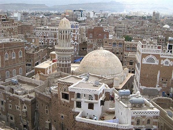 Вид старой части Саны / Фото из Йемена