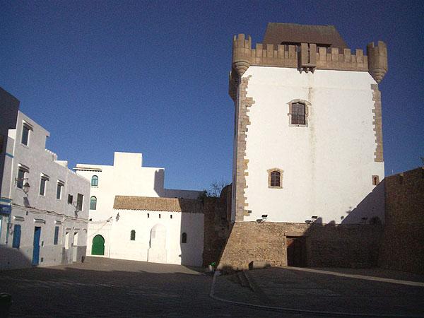 Старый центр Асилы / Фото из Марокко