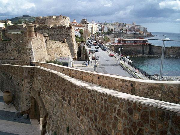 Испанский город Сеута / Фото из Марокко