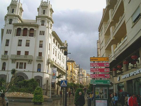 Сеута - испанский анклав в Африке / Фото из Марокко