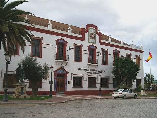 Комендатура округа Сеута / Фото из Марокко
