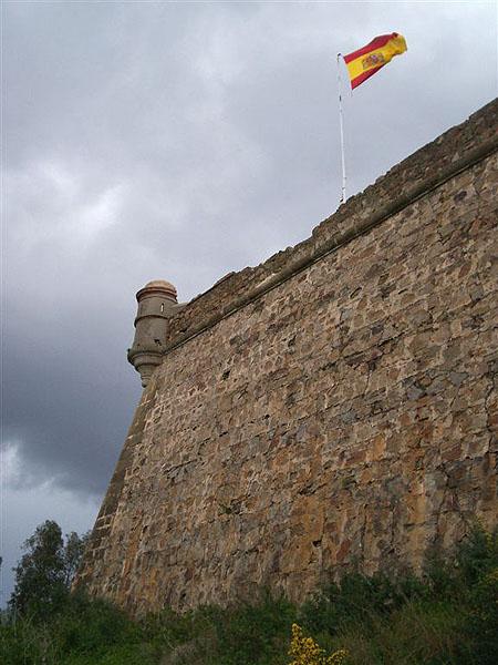 Крепость на горе Ачо, Сеута / Фото из Марокко