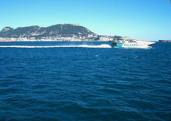 Вид на Гибралтар / Фото из Марокко