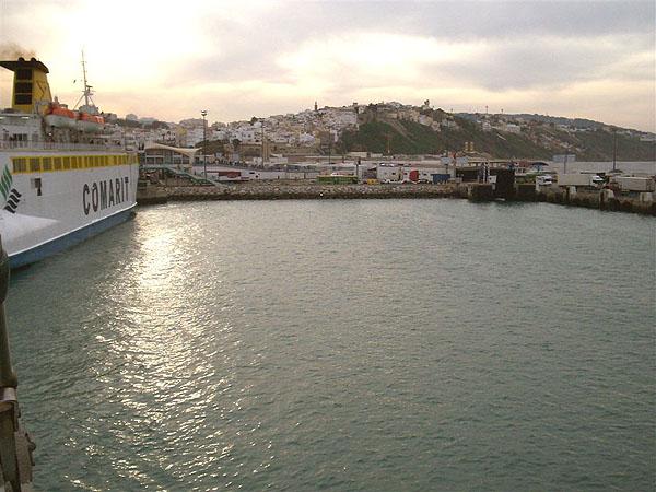 Порт Танжера / Фото из Марокко