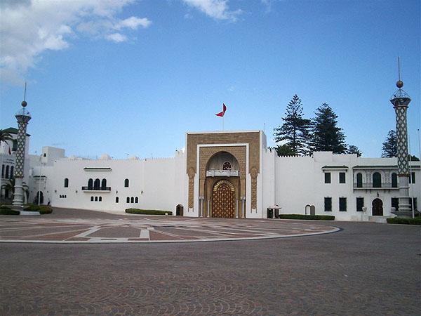 Королевский дворец в Тетуане / Фото из Марокко