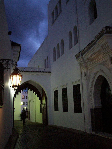 Вечер в Тетуане, Марокко / Фото из Марокко