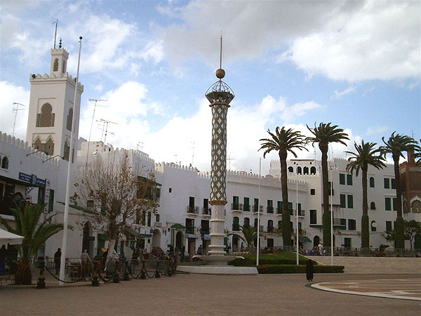Площадь в Старом городе, Тетуан / Фото из Марокко