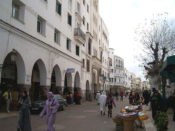 Оживленные улицы Тетуана / Фото из Марокко