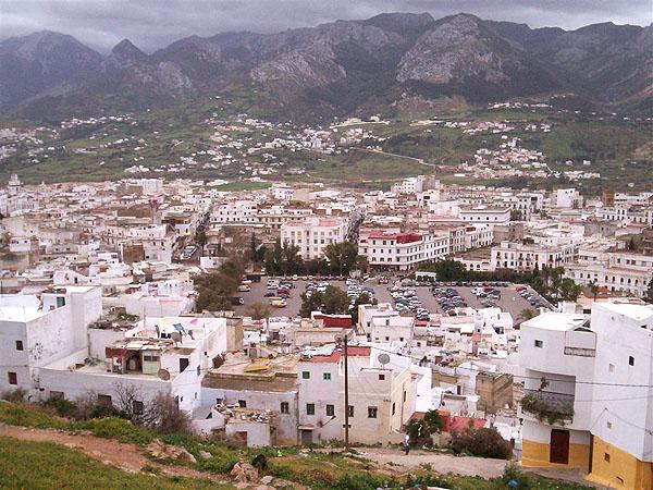 Вид на горы Риф из крепости Тетуана / Фото из Марокко