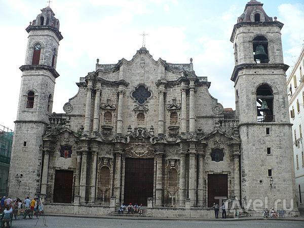 Кафедральный собор Гаваны  / Фото с Кубы