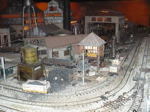 Макет стринного ромового завода из экспозиции музея / Фото с Кубы