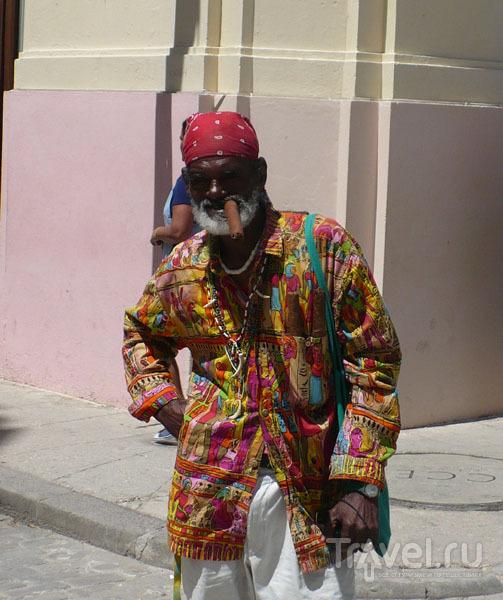 Продавец сигар / Фото с Кубы