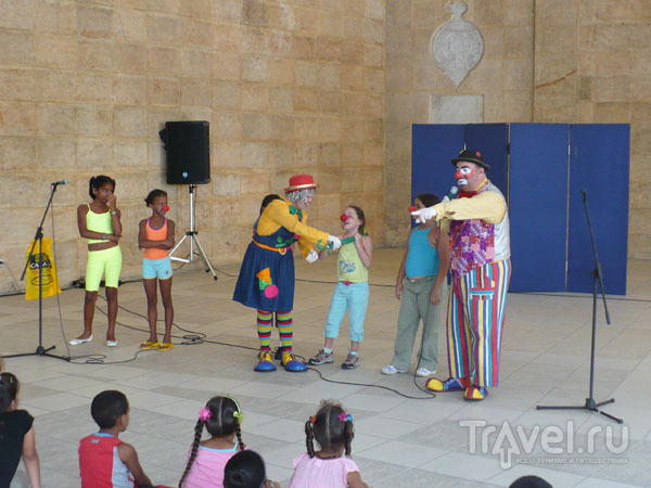 Детские занятия в залах Дворца изящных искусств / Фото с Кубы