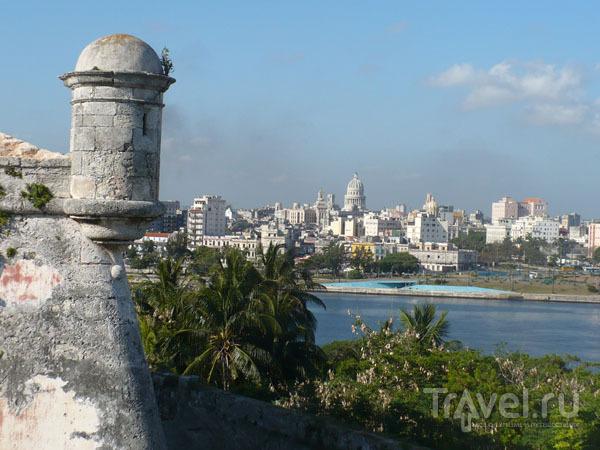 Вид на Гавану из крепости / Фото с Кубы