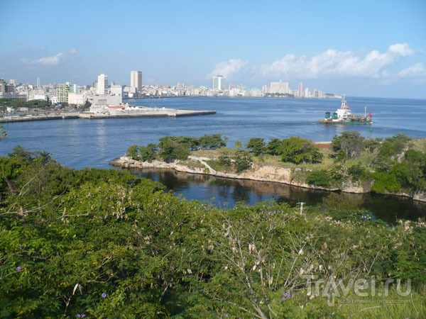 Вход в Гаванскую бухту / Фото с Кубы