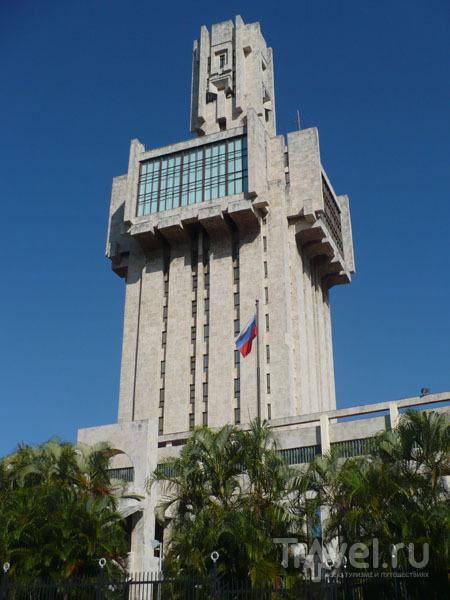 Российское посольство в Гаване / Фото с Кубы