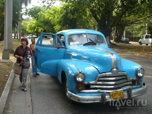 Такси в Мирамаре / Фото с Кубы