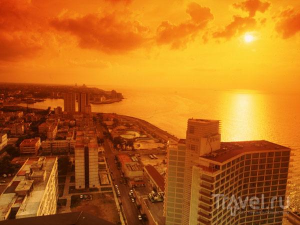 Гаванский закат / Фото с Кубы
