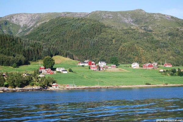 Норвежские домики / Фото из Норвегии