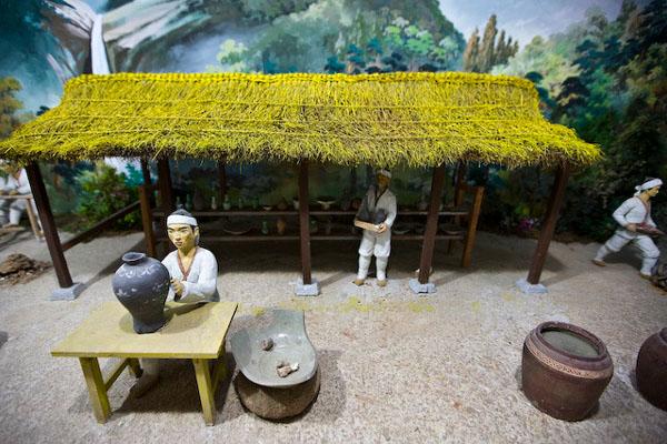 Музей истории Кореи в приграничном городе Кэсон / Фото из Северной Кореи
