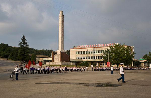 Северокорейские пионеры в городе Кэсон / Фото из Северной Кореи