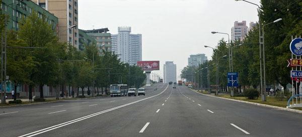 Проспекты Пхеньяна / Фото из Северной Кореи