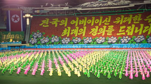 """Шоу """"Ариран"""" рассказывает об истории Северной Кореи / Фото из Северной Кореи"""