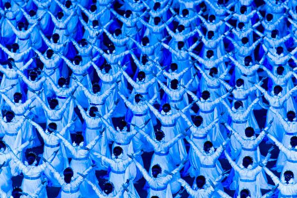 Лунная революционная ночь / Фото из Северной Кореи