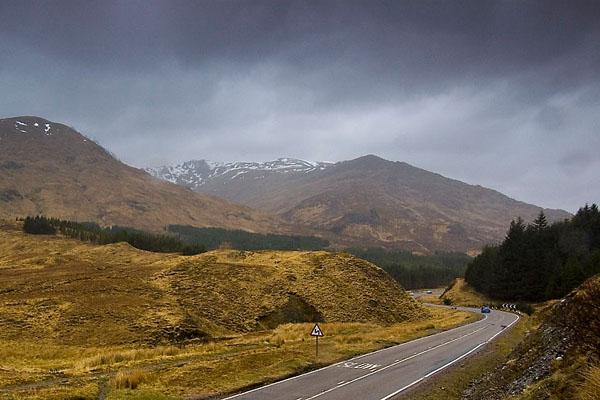 Долина Glen Coe, Шотландия / Фото из Великобритании