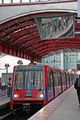 DLR - лёгкое метро / Великобритания