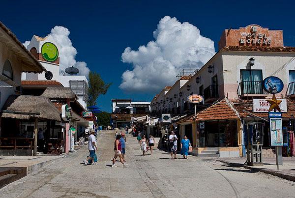 Мексиканский городок Плайя-дель-Кармен / Фото из Мексики
