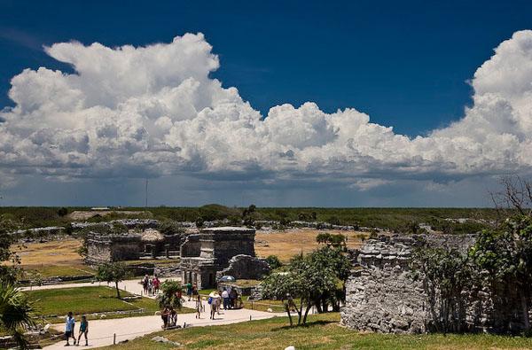 Древний город майя - Тулум / Фото из Мексики