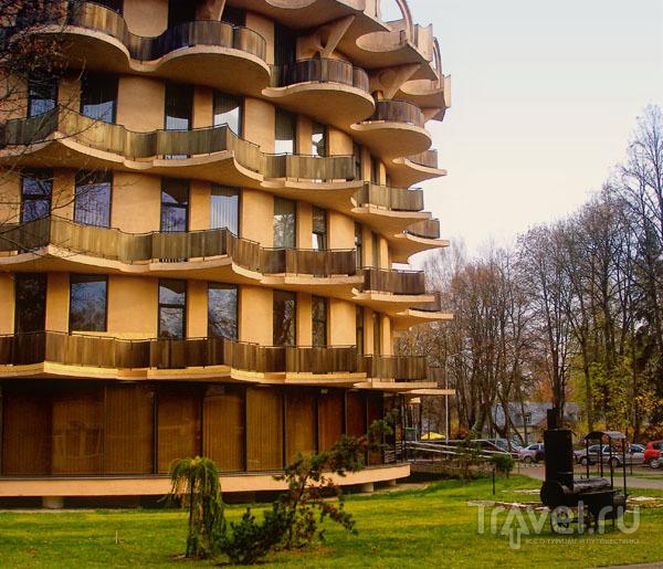 В городе строятся современные санатории и отели / Фото из Литвы