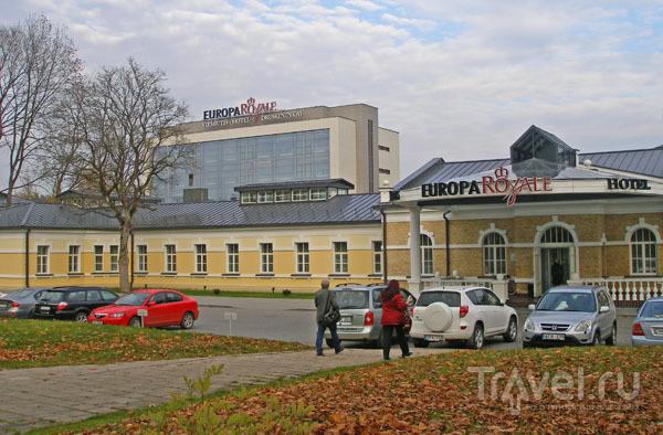 Отель Europa Royale расположен в здании царской лечебницы / Фото из Литвы