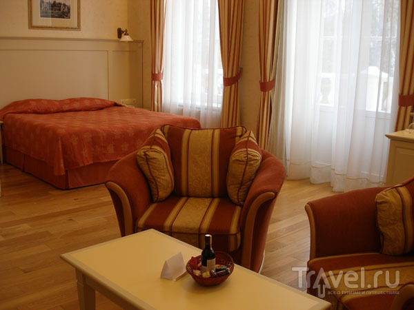 Царские особы в этом номере не жили, зато здесь останавливалась Бьорк / Фото из Литвы