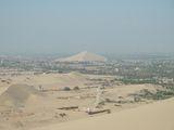 вид с дюны в сторону противоположную оазису / Перу