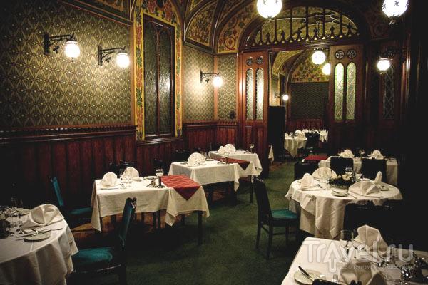 "Интерьер ресторана ""Карпатия"", Будапешт / Фото из Венгрии"