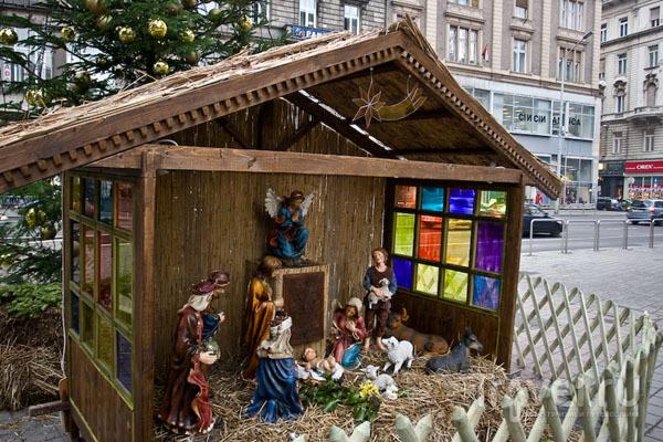 Рождественское настроение в столице Венгрии / Фото из Венгрии