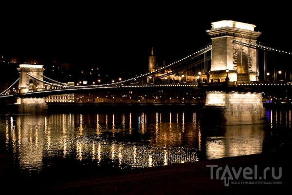 Цепной мост через Дунай  / Фото из Венгрии