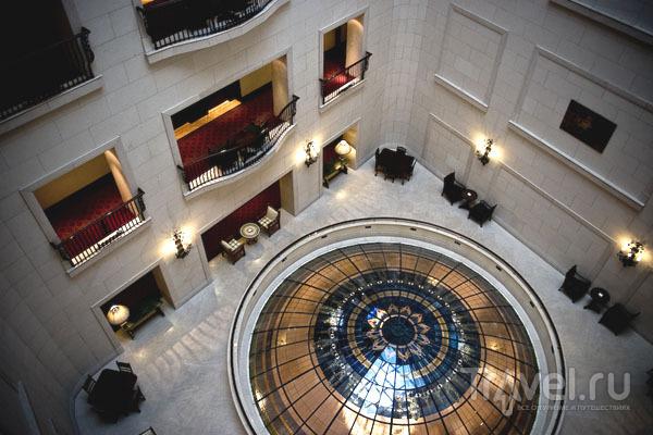Интерьер гостиницы Le Meridien в Будапеште / Фото из Венгрии